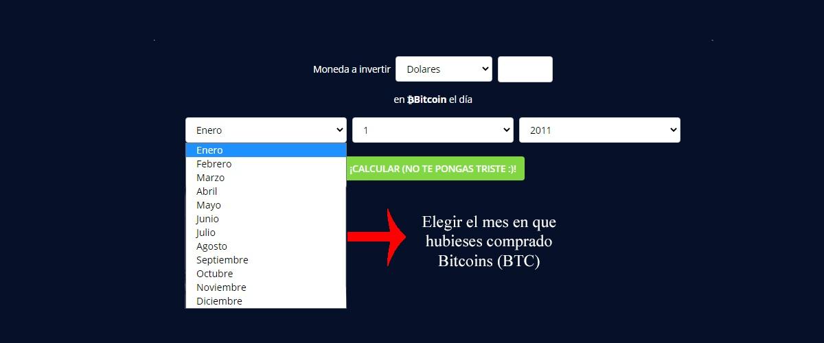 si hubiese invertido en bitcoins hace un tiempo