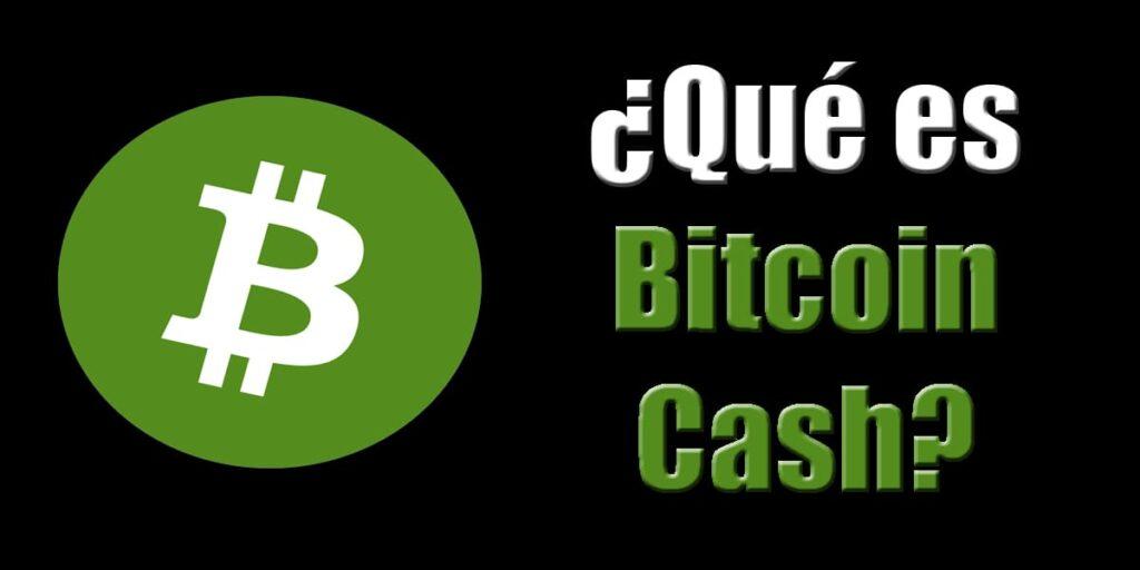 para que sirve el bitcoin cash